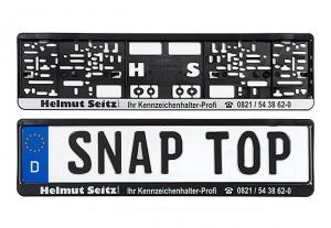 Kennzeichenhalter_SnapTop_Design